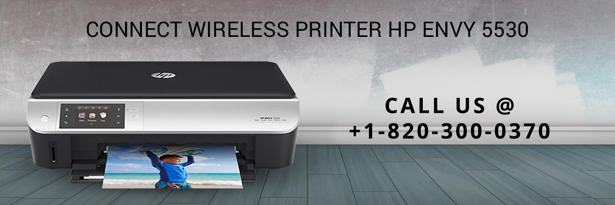 Connect Wireless Printer HP Envy 5530
