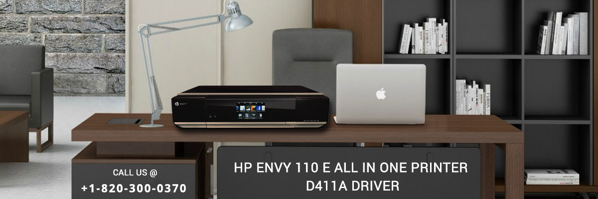 HP envy 110 e-all-in-one printer - d411a driver software