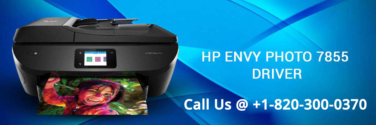 HP Envy Photo 7855 driver